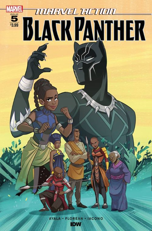 MARVEL ACTION: BLACK PANTHER#5