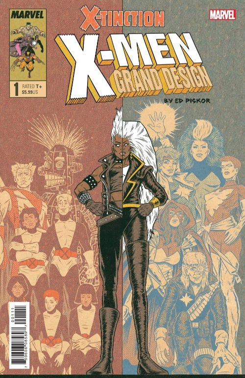 X-MEN: GRAND DESIGN--X-TINCTION #1