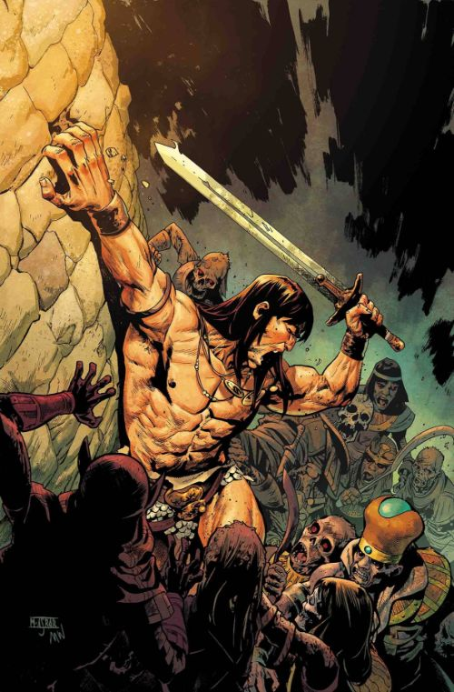 SAVAGE SWORD OF CONAN#5