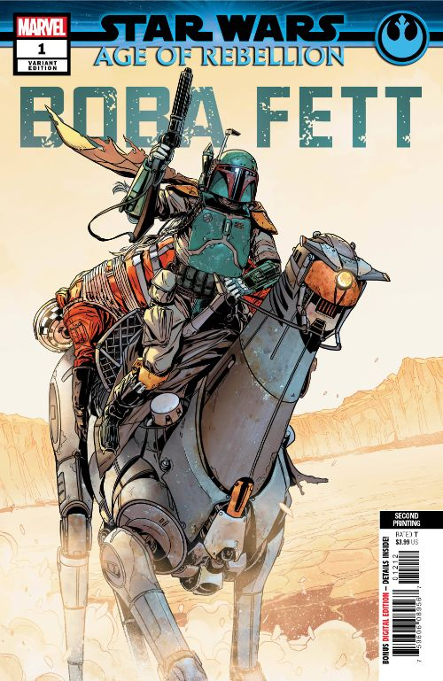 STAR WARS: AGE OF REBELLION--BOBA FETT#1