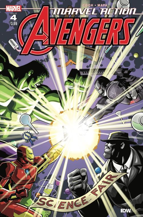 MARVEL ACTION: AVENGERS #4