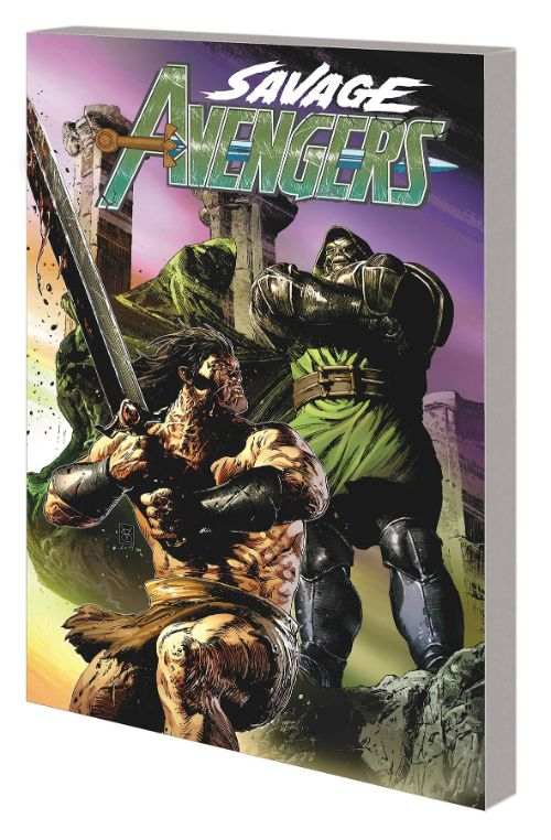 SAVAGE AVENGERSVOL 02: TO DINE WITH DOOM