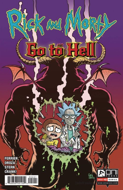 RICK AND MORTY: GO TO HELL#2