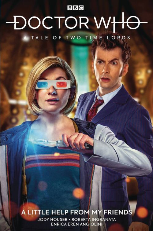 DOCTOR WHO: THE THIRTEENTH DOCTOR VOL 04: A TALE OF TWO TIME LORDS