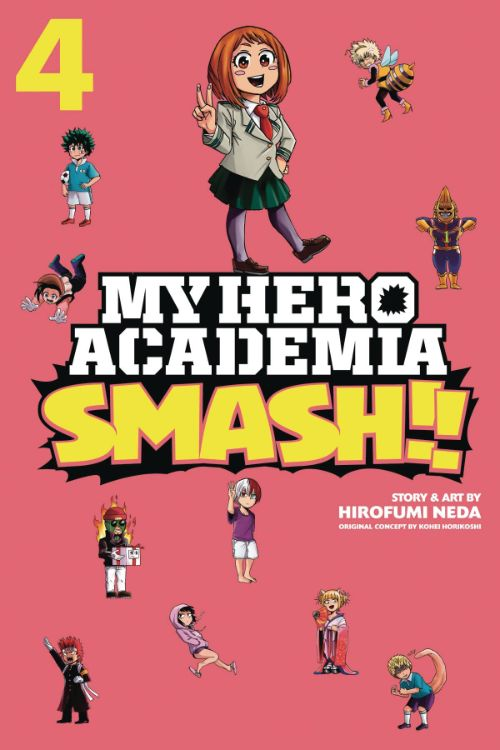 MY HERO ACADEMIA: SMASH!! VOL 04