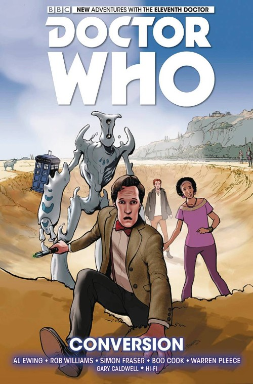 DOCTOR WHO: THE ELEVENTH DOCTOR VOL 03: CONVERSION