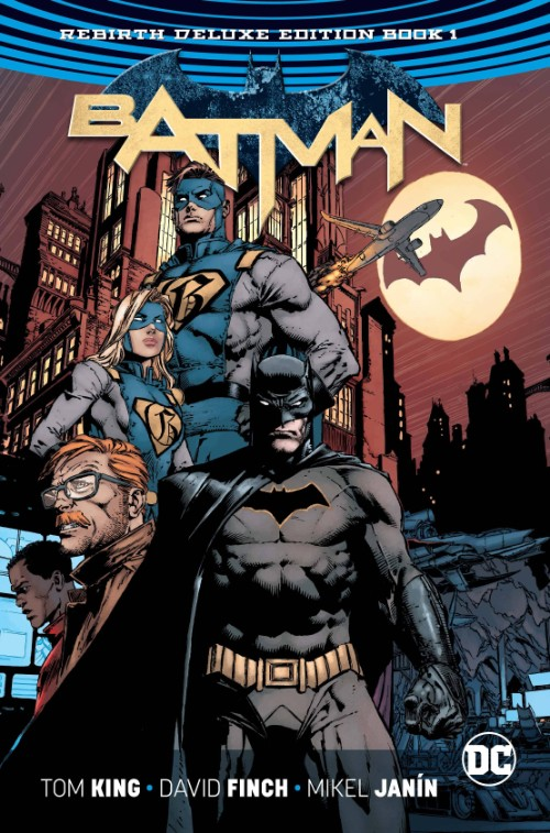 BATMAN: REBIRTH DELUXE EDITION BOOK 01