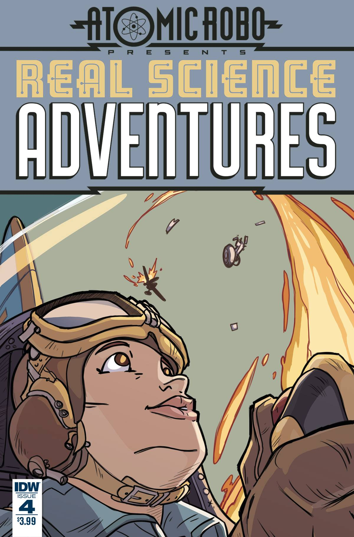REAL SCIENCE ADVENTURES: THE FLYING SHE-DEVILS#4