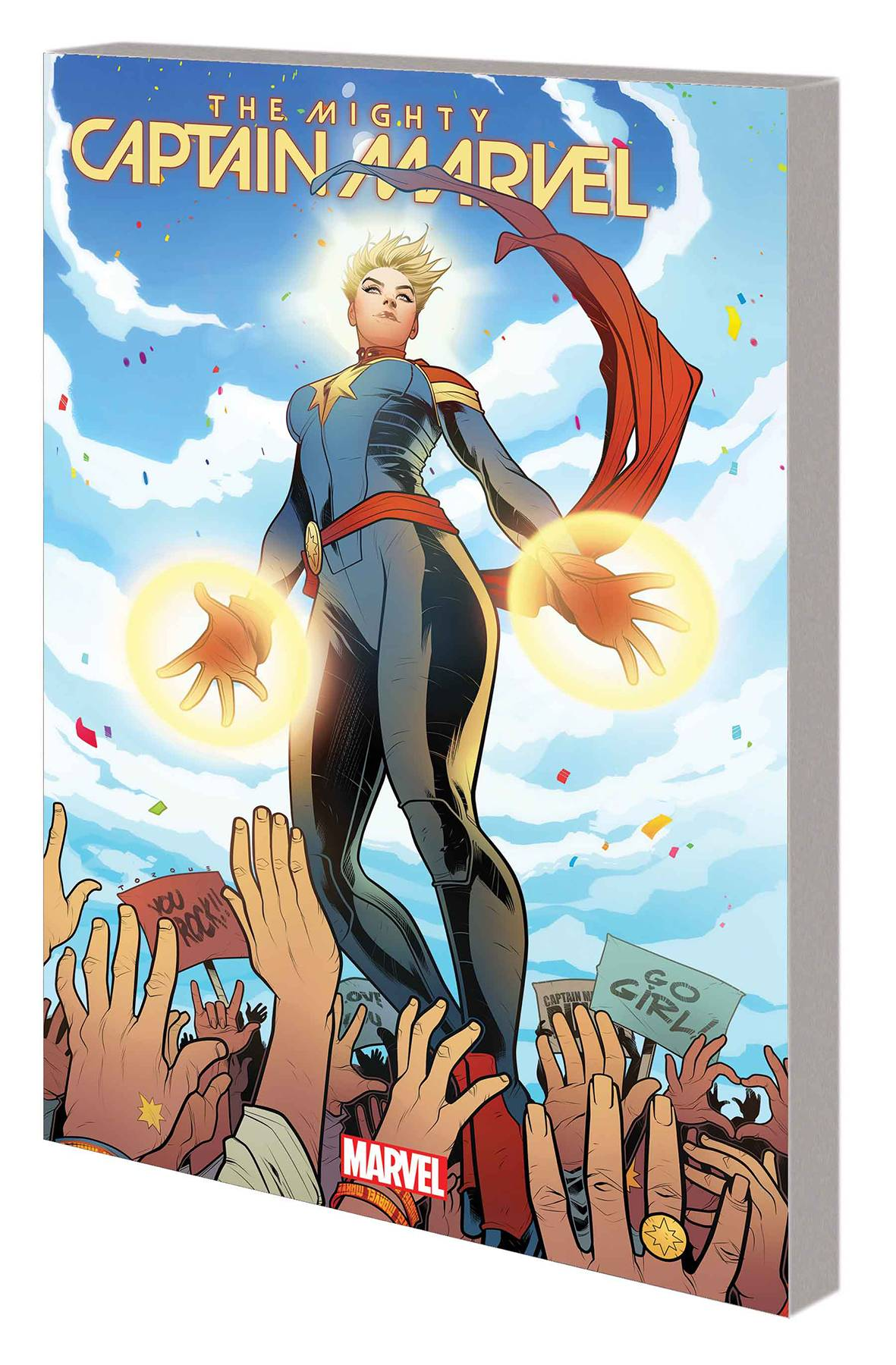 MIGHTY CAPTAIN MARVEL VOL 01: ALIEN NATION