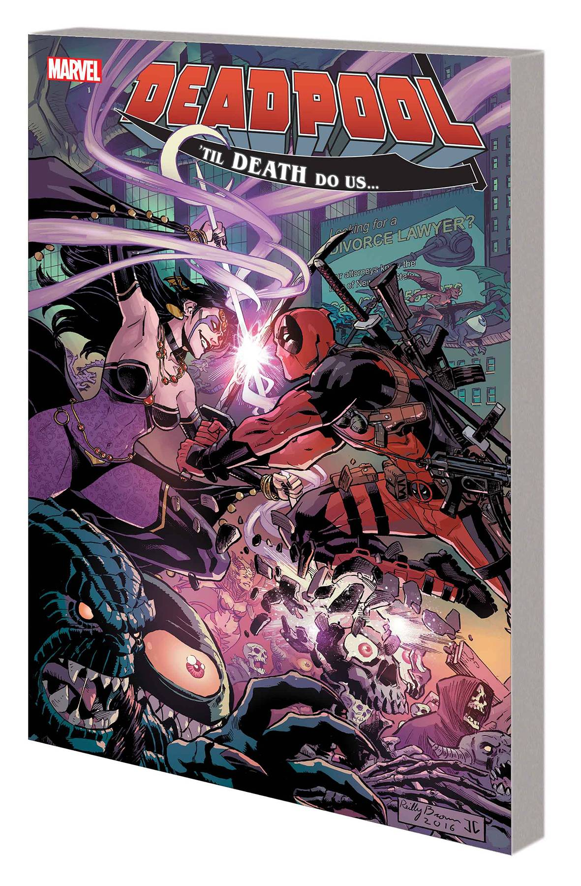 DEADPOOL: WORLD'S GREATEST VOL 08: 'TIL DEATH DO US...