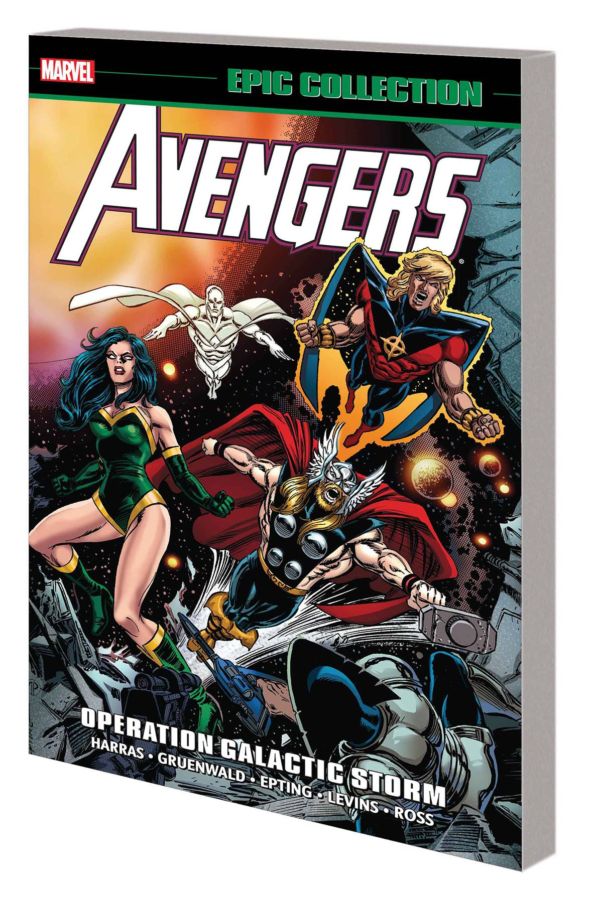 AVENGERS EPIC COLLECTION VOL 22: OPERATION GALACTIC STORM
