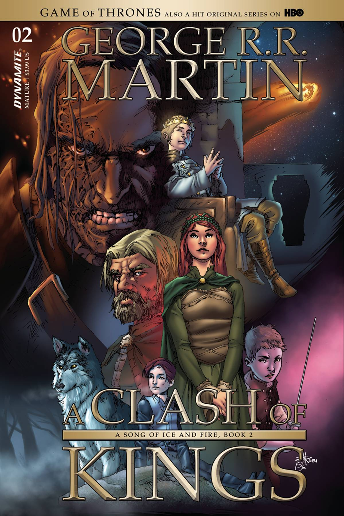 GAME OF THRONES: A CLASH OF KINGS#2
