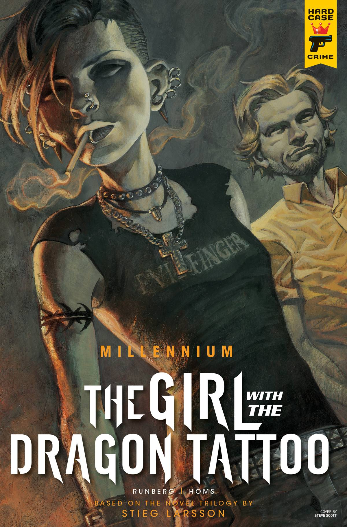MILLENNIUM--THE GIRL WITH THE DRAGON TATTOO#2
