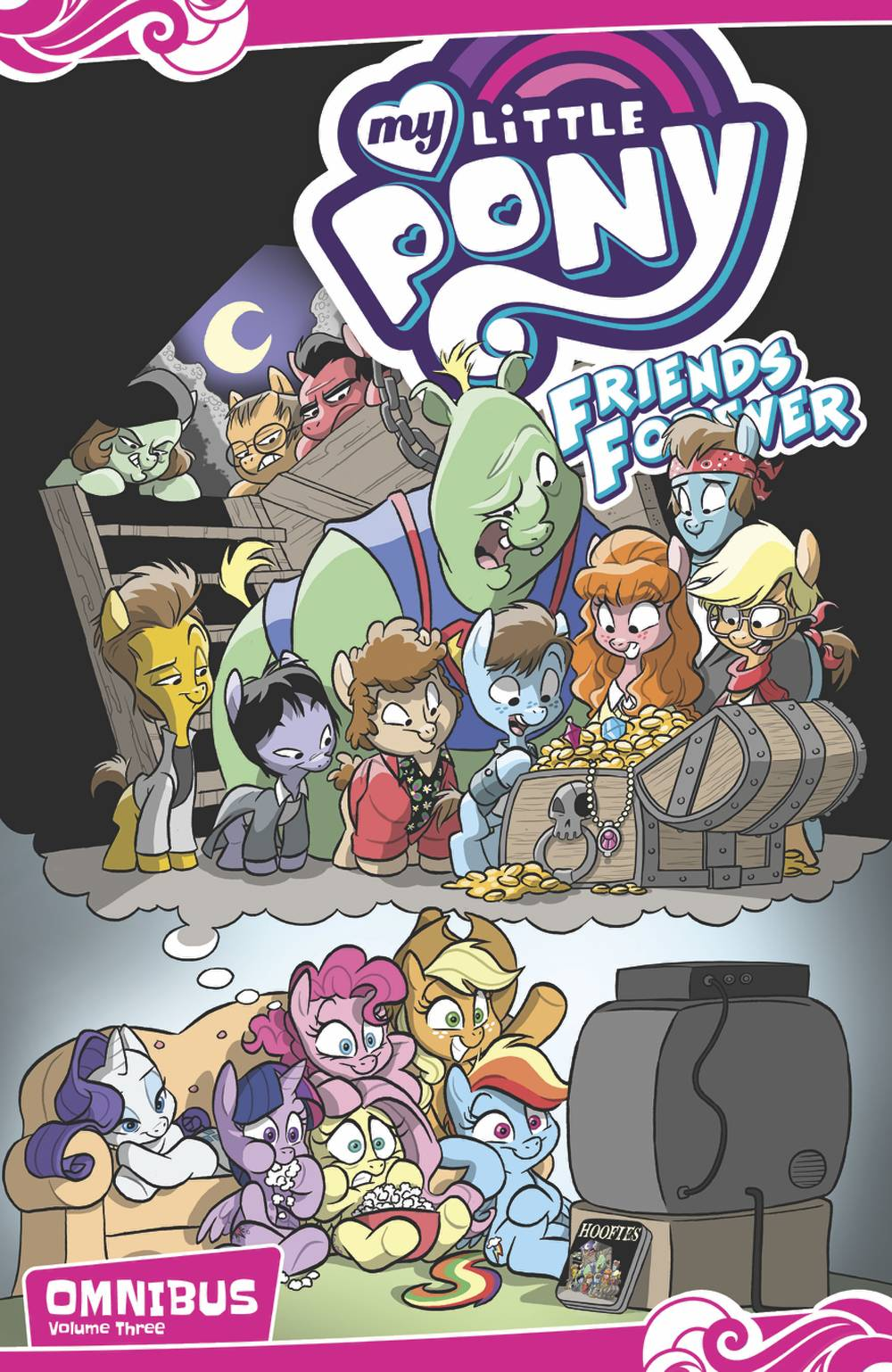 MY LITTLE PONY: FRIENDS FOREVER OMNIBUS VOL 03