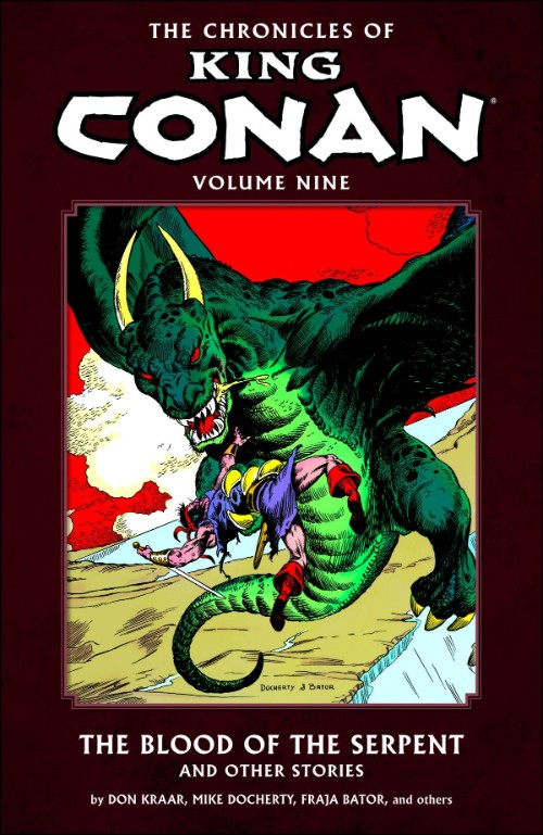 CHRONICLES OF KING CONANVOL 09: BLOOD OF SERPENT