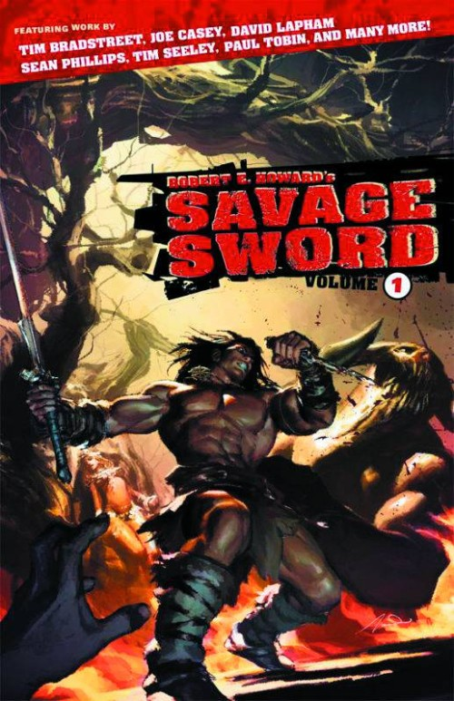 ROBERT E. HOWARD'S SAVAGE SWORDVOL 01
