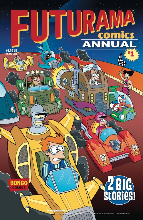 FUTURAMA COMICS ANNUAL#1