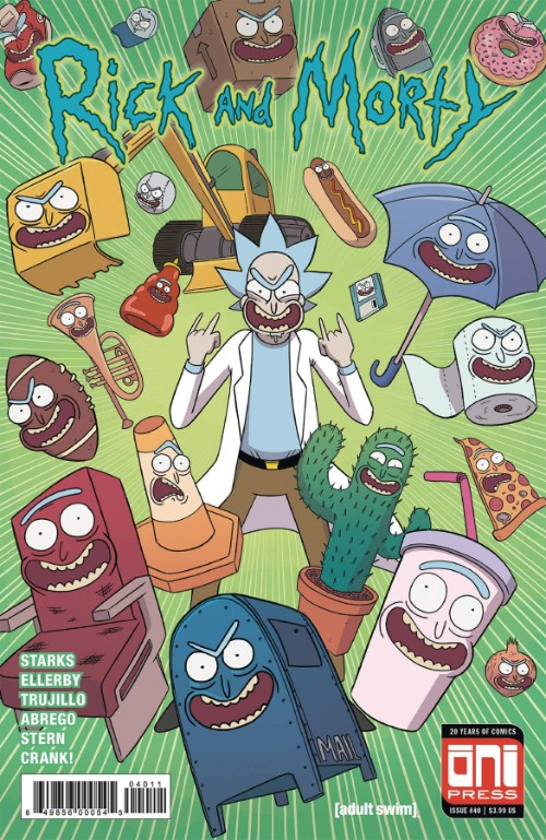 RICK AND MORTY#40