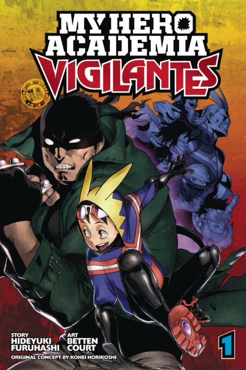 MY HERO ACADEMIA: VIGILANTES VOL 01