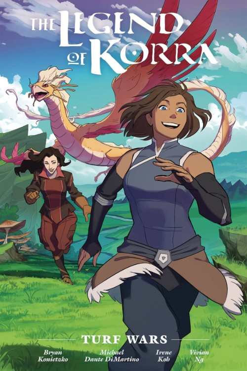 LEGEND OF KORRA: TURF WARS LIBRARY ED