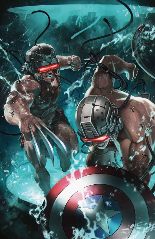 Wolverine and Captain America: Weapon Plus #1