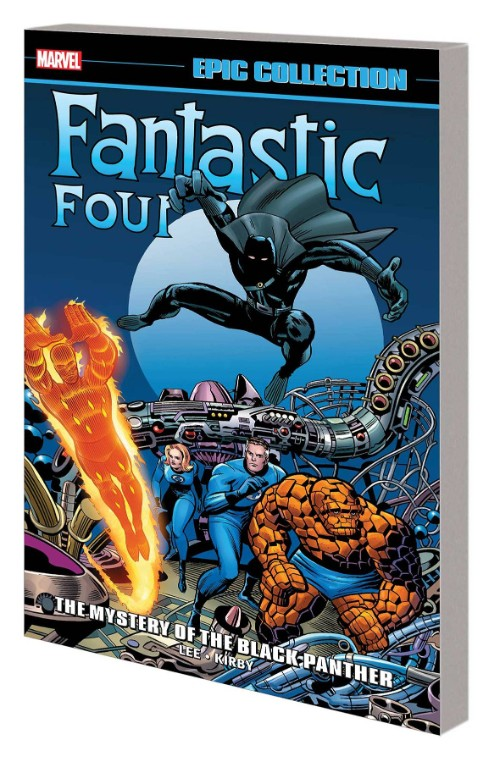 FANTASTIC FOUR EPIC COLLECTIONVOL 04: THE MYSTERY OF THE BLACK PANTHER