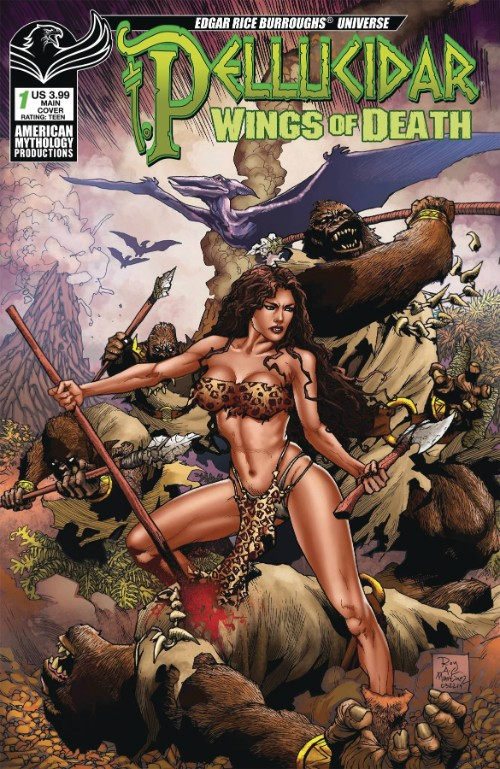 PELLUCIDAR: WINGS OF DEATH#1