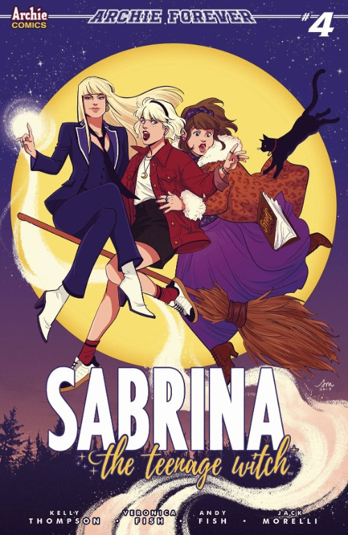 SABRINA THE TEENAGE WITCH#4