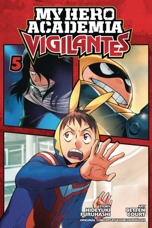 MY HERO ACADEMIA: VIGILANTES VOL 05