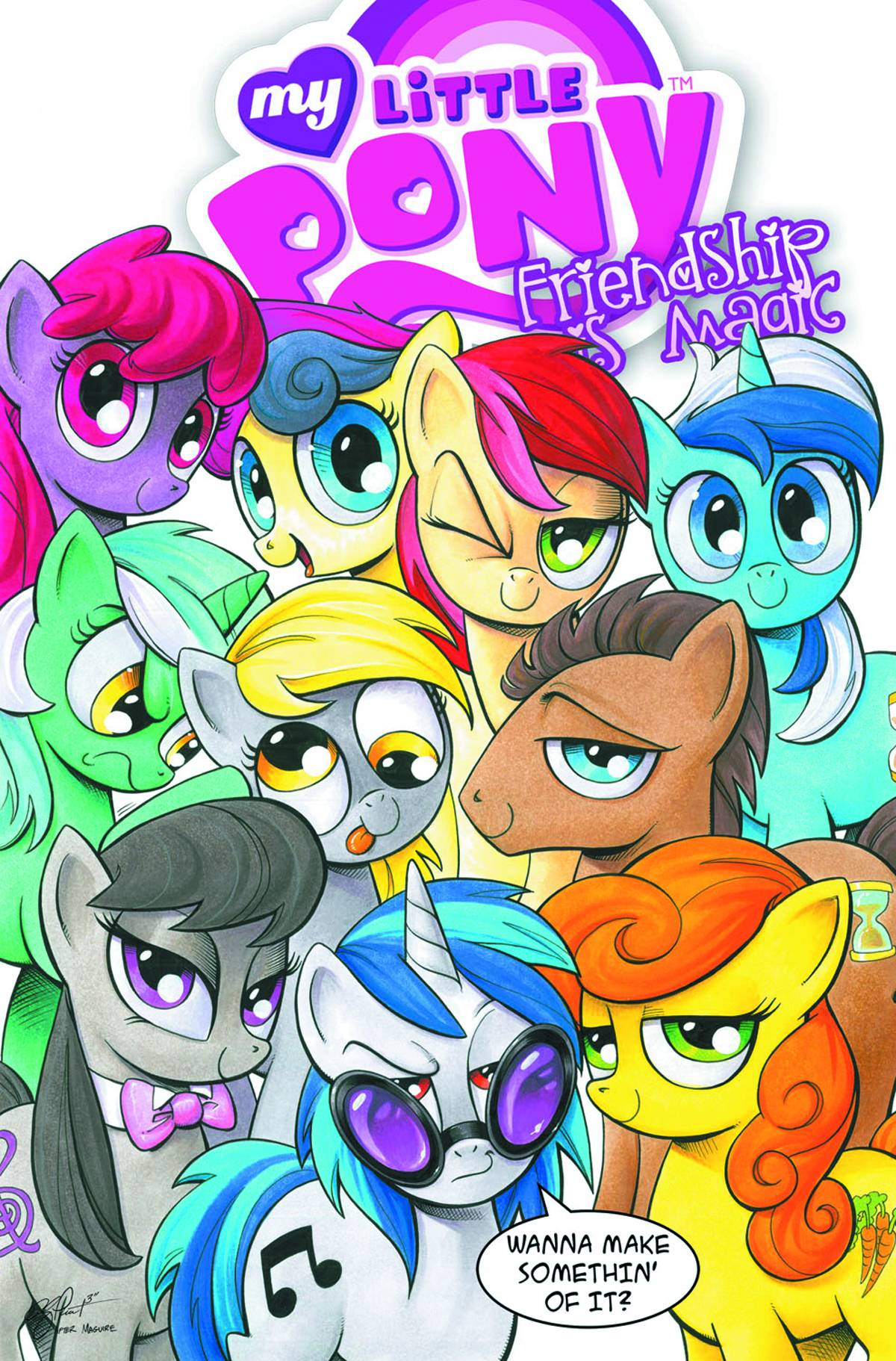 MY LITTLE PONY: FRIENDSHIP IS MAGIC VOL 03