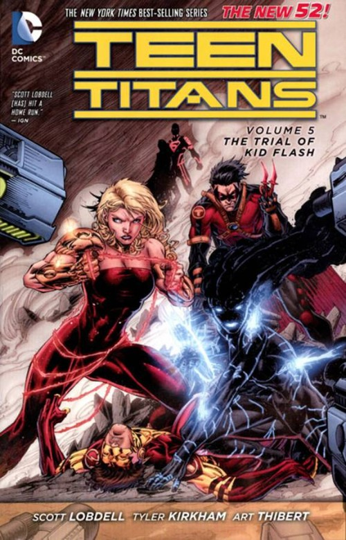 TEEN TITANS VOL 05: THE TRIAL OF KID FLASH