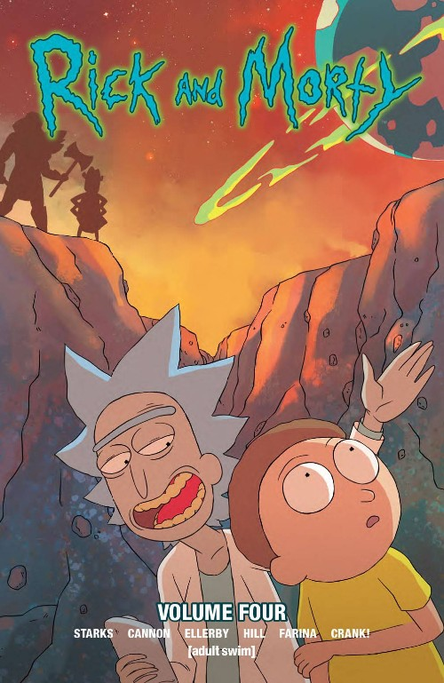 RICK AND MORTY VOL 04