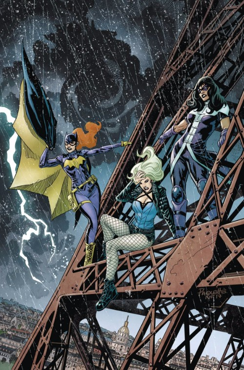 BATGIRL AND THE BIRDS OF PREY#18
