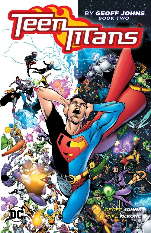 TEEN TITANS BY GEOFF JOHNS BOOK 02