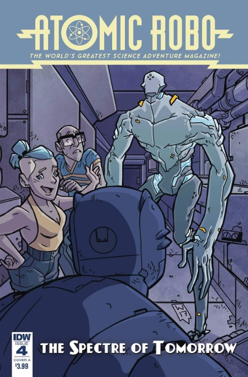 ATOMIC ROBO AND THE SPECTRE OF TOMORROW#4