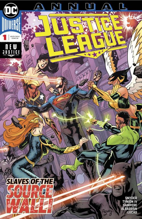 JUSTICE LEAGUE ANNUAL#1