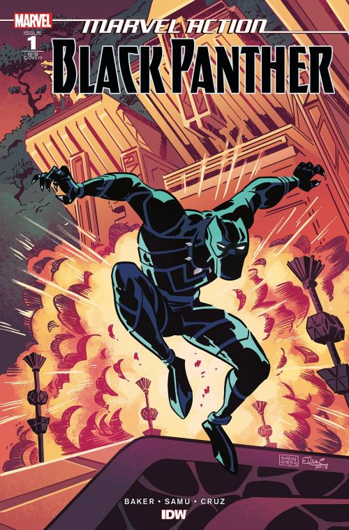 MARVEL ACTION: BLACK PANTHER#1