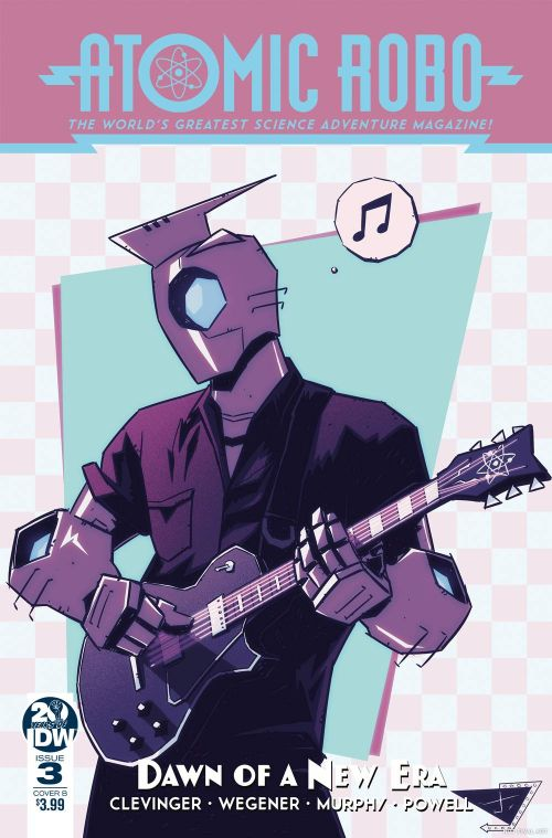 ATOMIC ROBO AND THE DAWN OF A NEW ERA#3