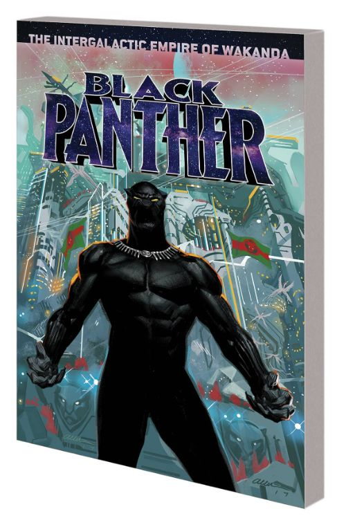 BLACK PANTHERBOOK 06: THE INTERGALACTIC EMPIRE OF WAKANDA, PART ONE