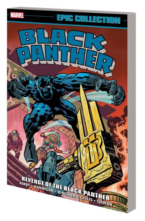BLACK PANTHER EPIC COLLECTIONVOL 02: REVENGE OF THE BLACK PANTHER