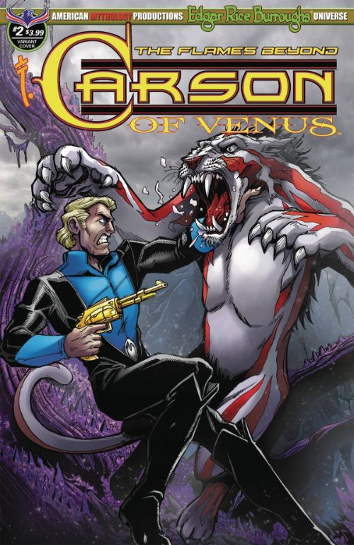 CARSON OF VENUS: THE FLAMES BEYOND#2