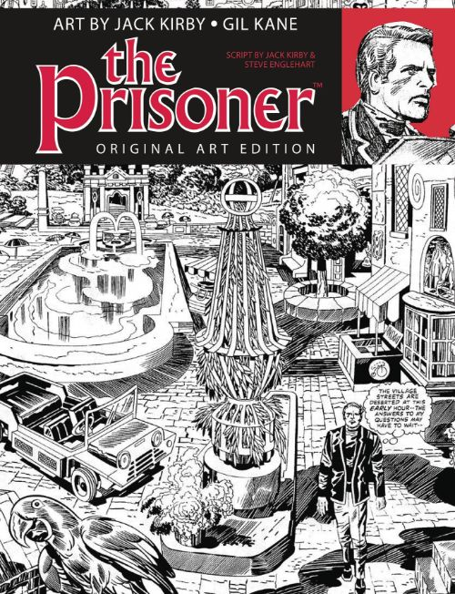 PRISONER: ORIGINAL ART EDITION