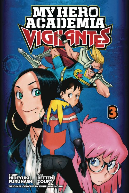 MY HERO ACADEMIA: VIGILANTES VOL 03