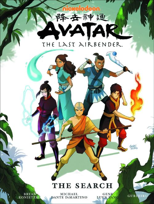 AVATAR: THE LAST AIRBENDER--THE SEARCH LIBRARY EDITION