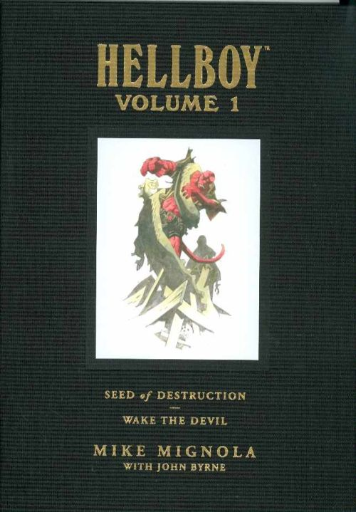 HELLBOY LIBRARY EDITIONVOL 01: SEED DESTRUCTION DEVIL