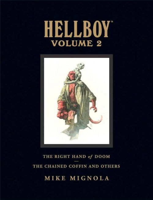 HELLBOY LIBRARY EDITIONVOL 02: CHAINED COFFIN