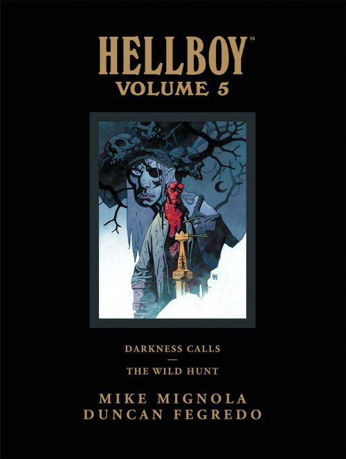 HELLBOY LIBRARY EDITIONVOL 05: DARKNESS CALLS WILD HUNT