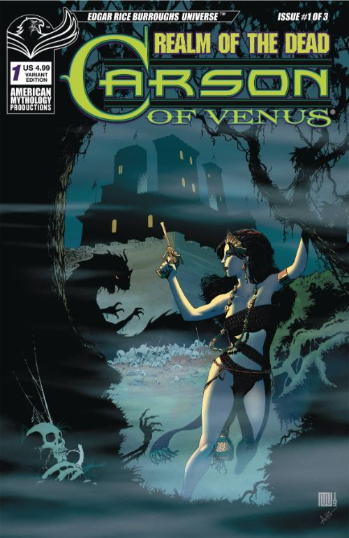 CARSON OF VENUS: REALM OF THE DEAD#1