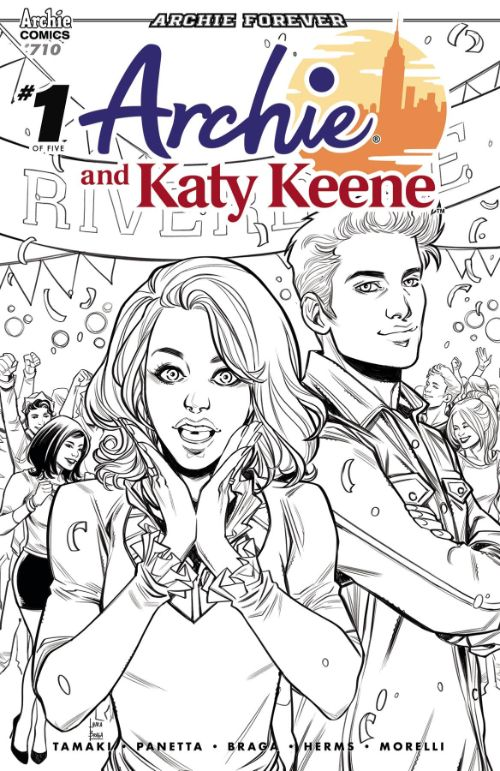ARCHIE#710 (ARCHIE AND KATY KEENE #1 OF 5)