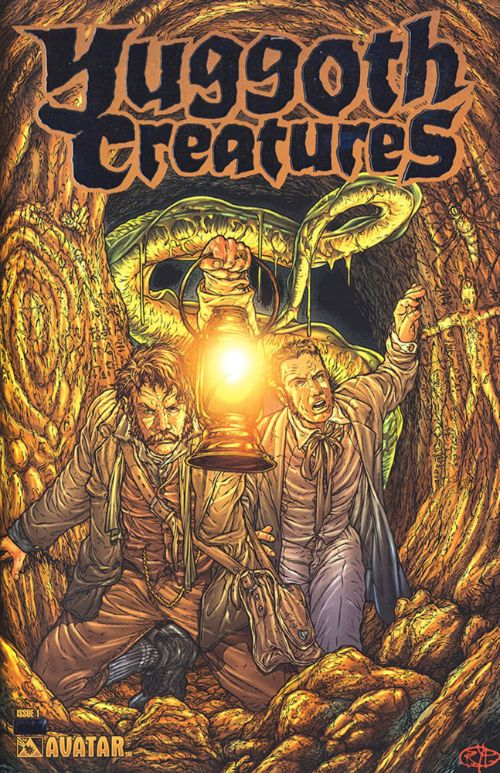 ALAN MOORE'S YUGGOTH CULTURES AND OTHER GROWTHS#1